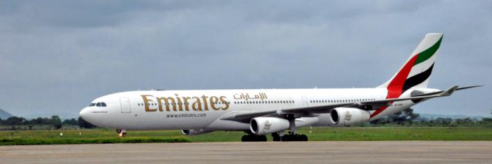 Emirates flygplan