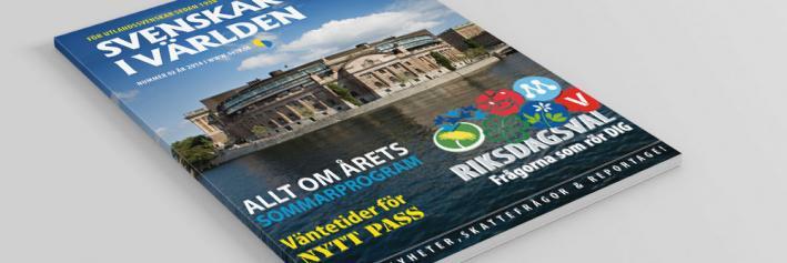 Tidskriften Svenskar i Världen 2-2014