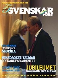 Tidningen Svenskar i Världen nummer 3, 2013 finns nu att läsa!