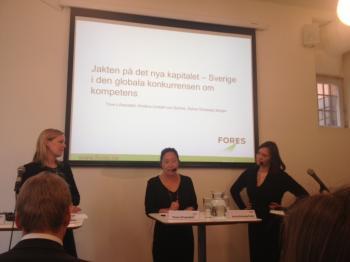 Kristina Lindahl von Sydow, Tove Lifvendahl och Sylvia Schwaag Serger