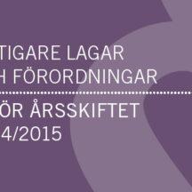 lagarförordningar2014_2015