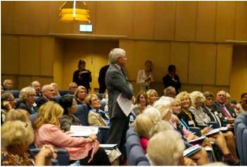 Bild från förra Utlandssvenskarnas Parlament 2013