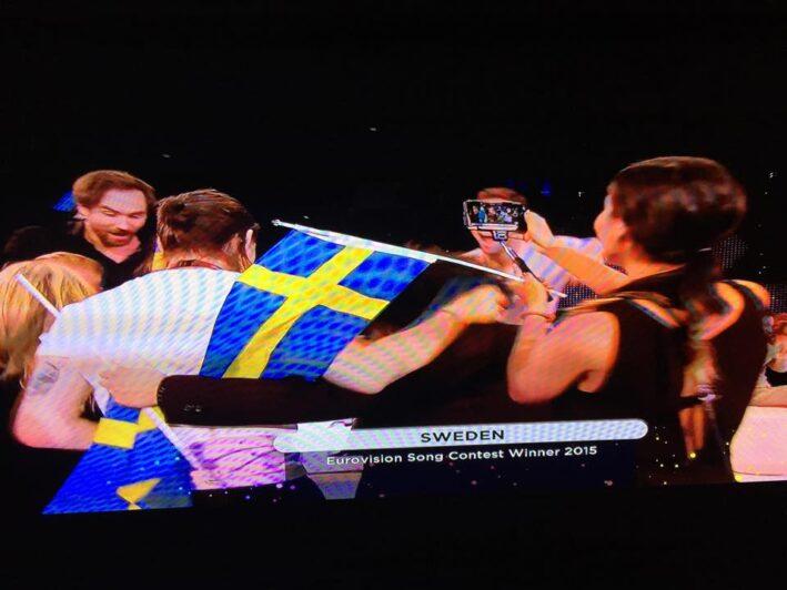 Måns Zelmerlöv vinner för Sverige!