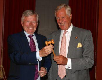 Tuve Johannesson och Michael Treschow