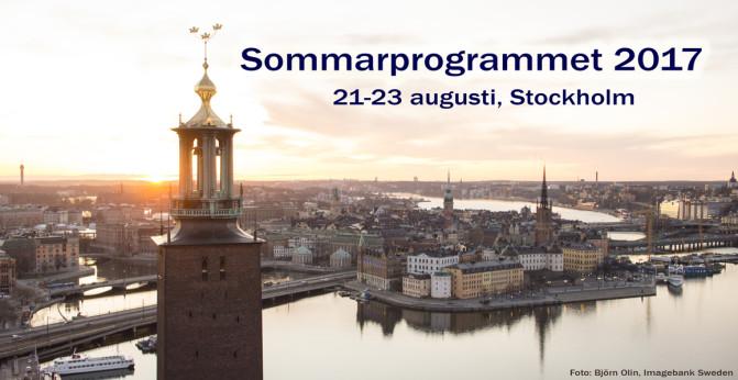 Inbjudan Sommarprogram