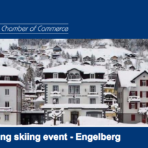 Networking skiing event - Engelberg
