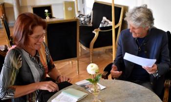 Ellika Nyqvist Livchitz intervju med Pia Sundhage.