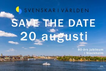SAVE THE DATE: 20-21/8
