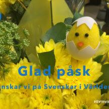 Glad påsk önskar Svenskar i Världen