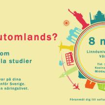 Seminarum internationella studier Växjö Kalmar