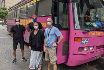 Omfattande evakuering av svenskar i Peru