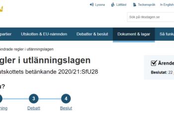Äntligen! Ändringar i utlänningslagen gynnar utlandssvenskar